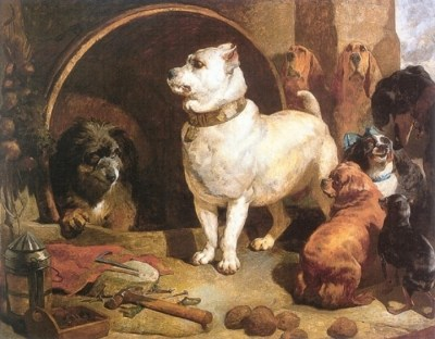Alexander and Diogenes by Edwin Landseer