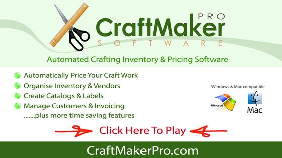 handmade pricing inventory made