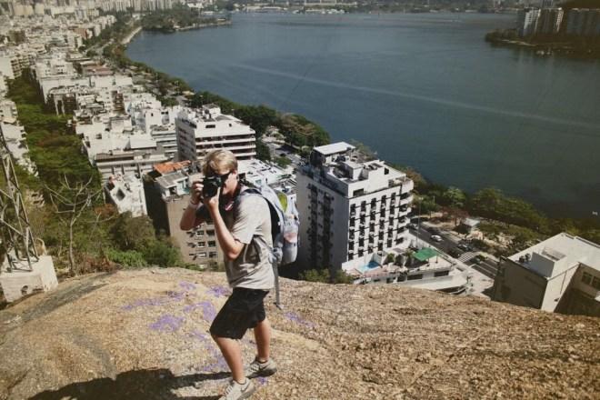 Scotty Bara in Rio de Janeiro