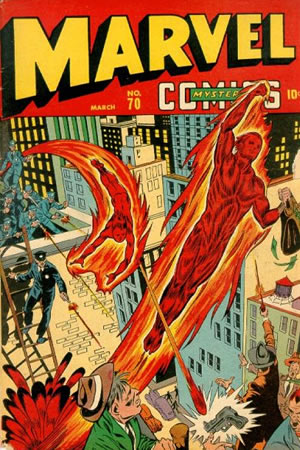 Marvel Mystery Comics 70 E Story  Golden Age Marvel Comics Reading Order