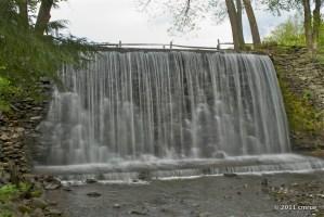 Belvedere Lake Waterfall