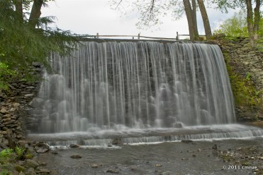 Belvedere Lake Waterfall
