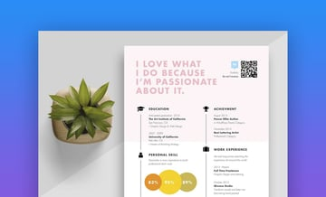 With this graphically designed color block resume template, you can summarize your talents in a. 29 Cool Colorful Resume Cv Templates Stand Out In 2021