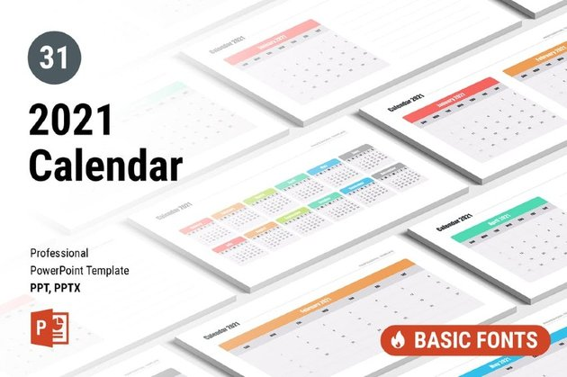 Arrange your final projects with this final project calendar template. 25 Best Powerpoint Calendar Template Ppt Designs For 2021