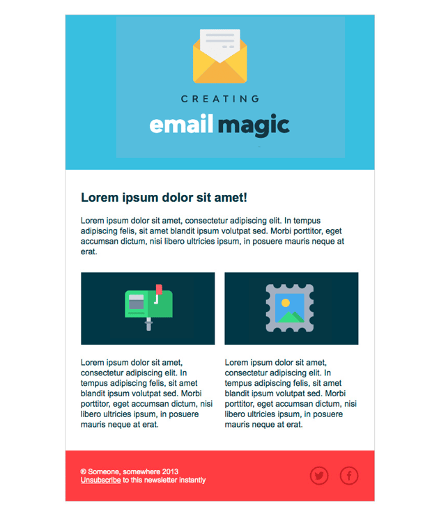 A complete guide to html email templates, tools, resources and guides. Build An Html Email Template From Scratch