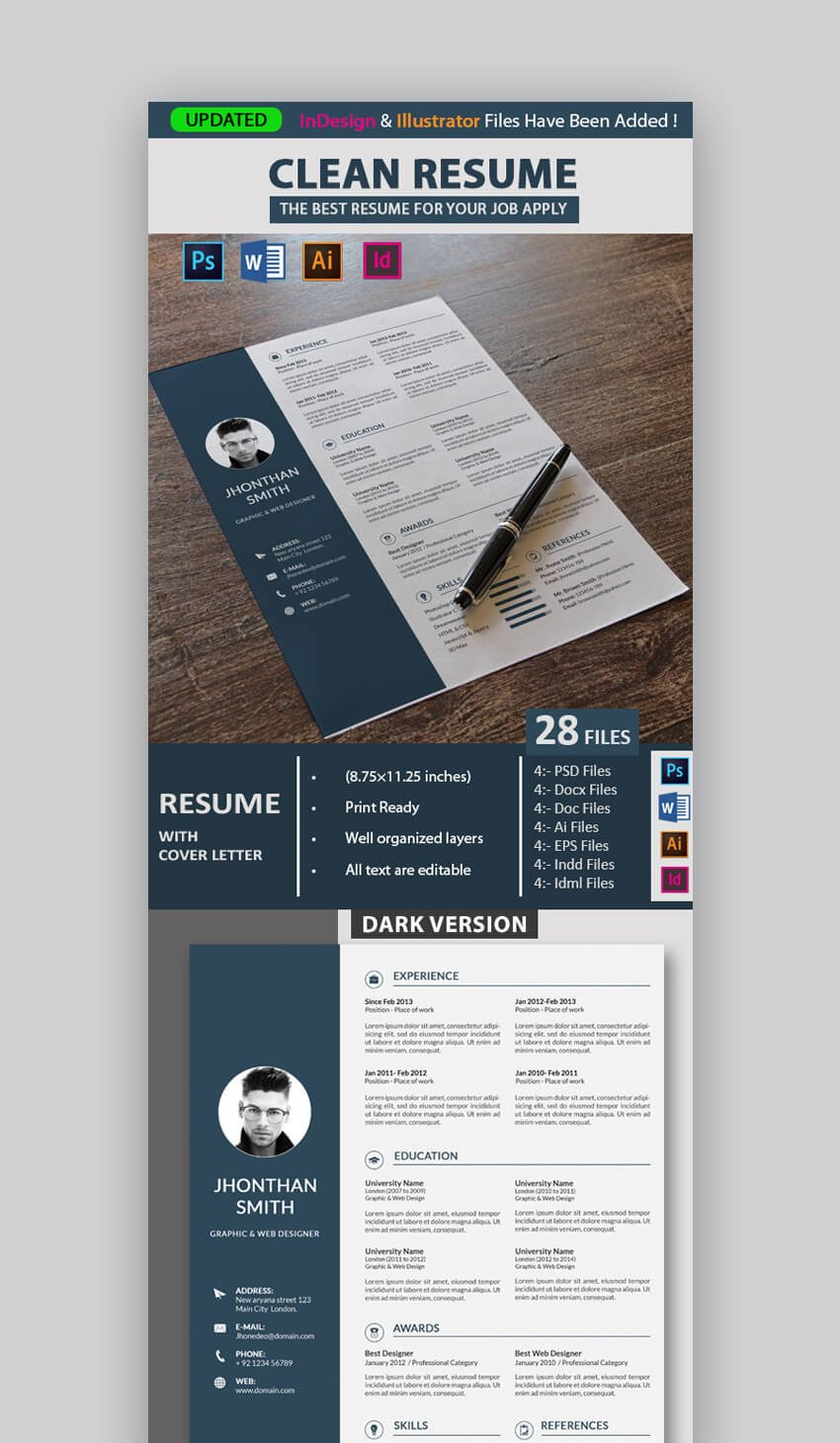 Enter your information into this word resume template and create a microsoft office resume template you'll love. Modern Resume Templates W Clean Elegant Cv Designs 2021