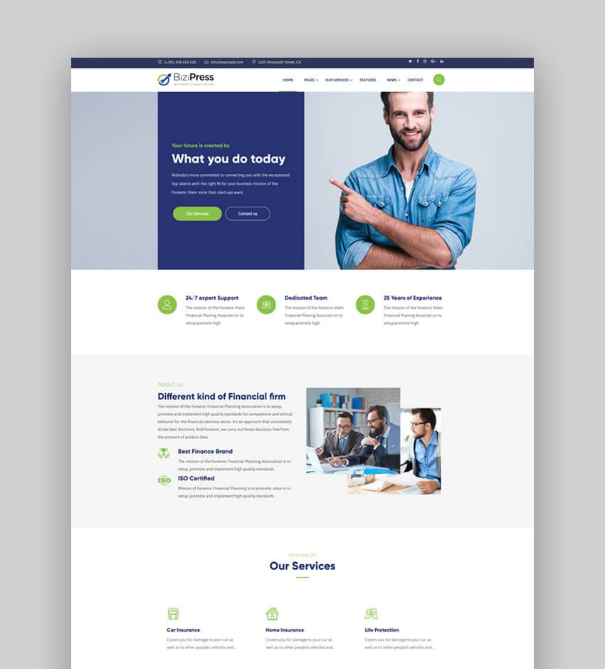 Insurance quote sheet template quote sheet template free. 25 Best Insurance WordPress Themes
