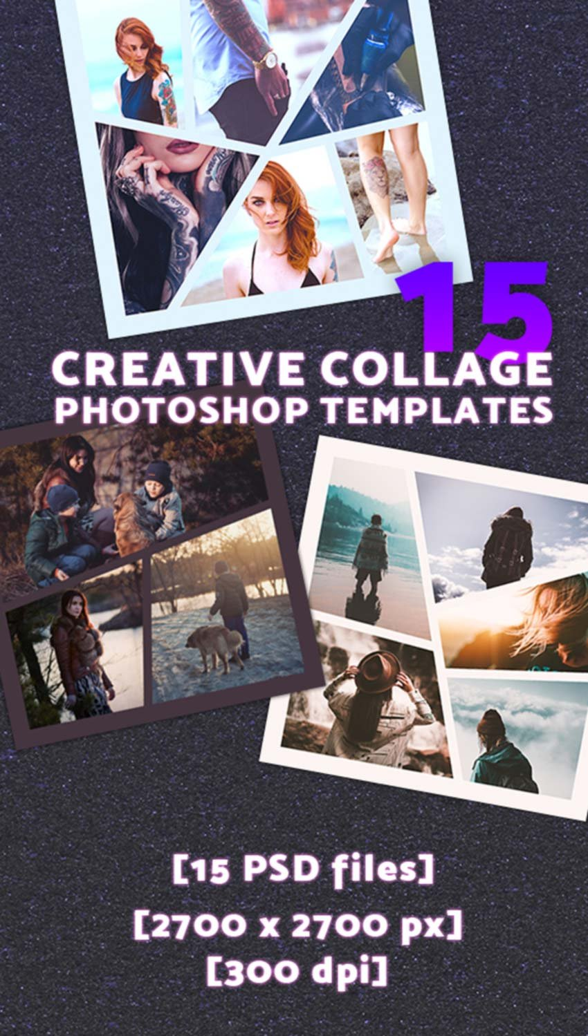 But the improvements are great, and this photoshop cs6 review will reveal all! 35 Best Photoshop Collage Templates