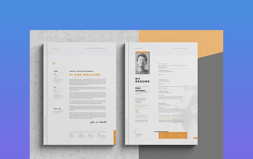 The key word for this cv is efficiency. 39 Professional Ms Word Resume Templates Cv Design Formats