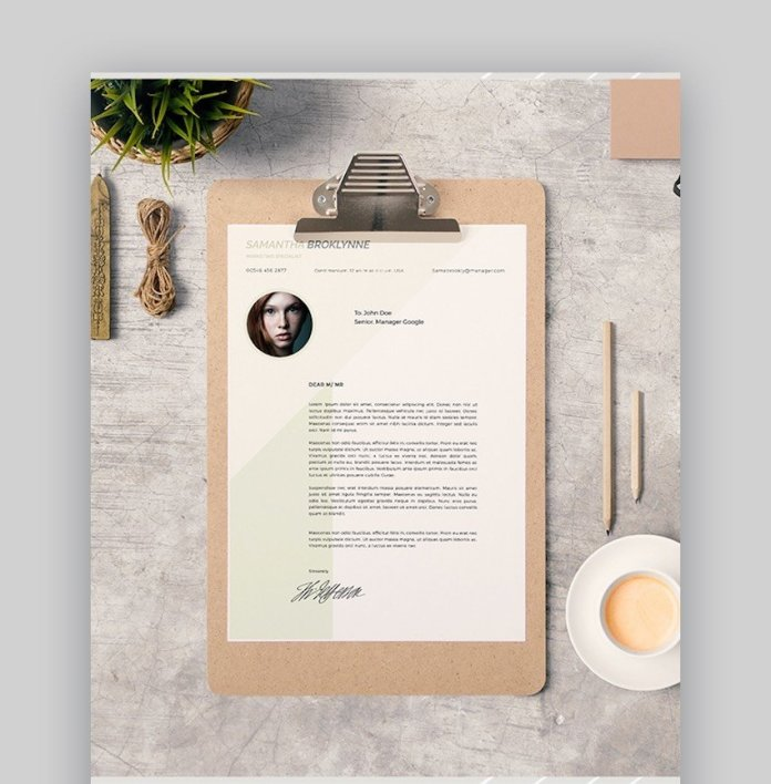 20 Best Free Microsoft Word Resume Cv Cover Letter Templates