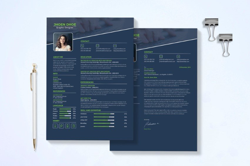 We may earn a commission through links on our site. 20 Best Free Modern Resume Templates And Cv Designs 2021