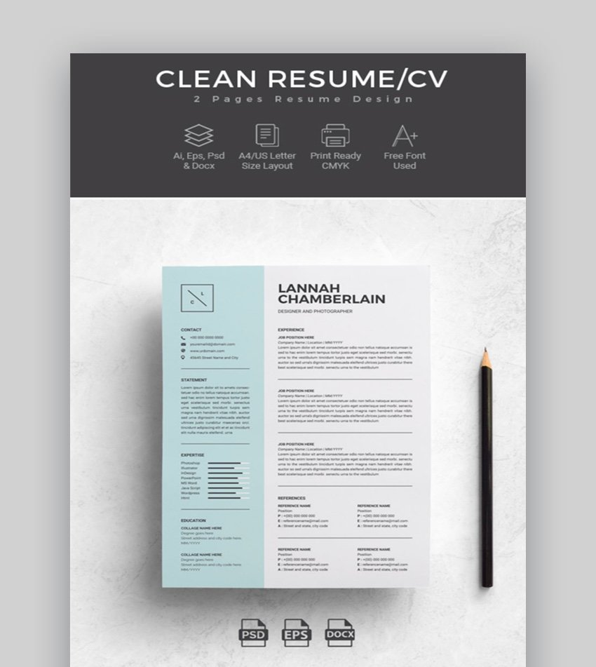 You shouldn't rely on your linkedin resume when applying for jobs. 39 Professional Ms Word Resume Templates Cv Design Formats
