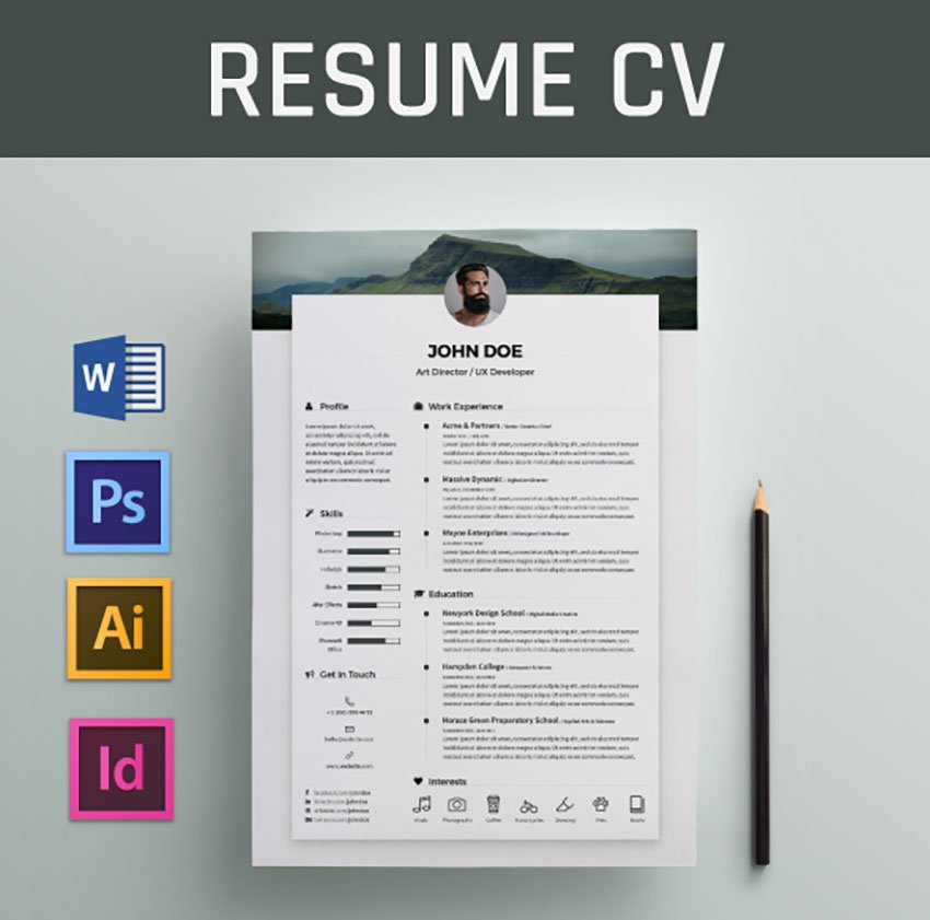 How to create a download file for a resume. 20 Best Free Modern Resume Templates And Cv Designs 2021