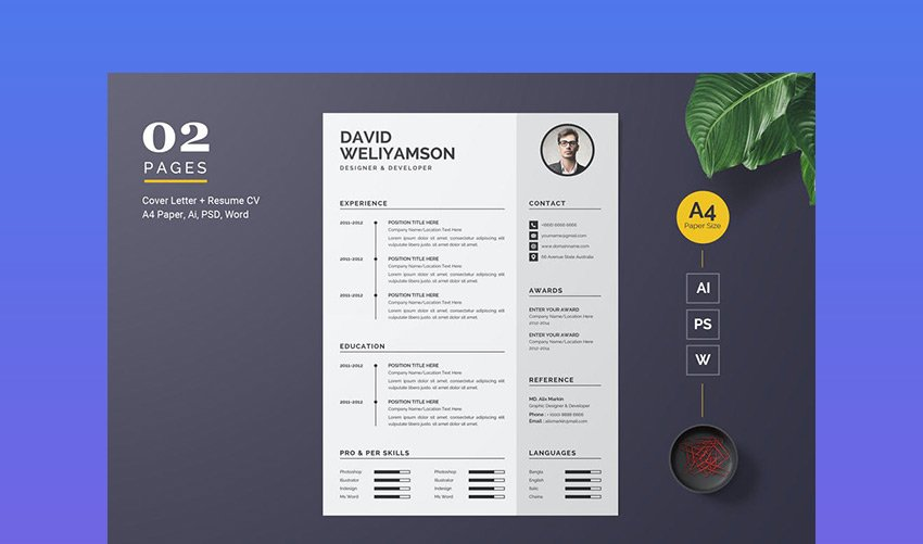 Download your favourite resume template from our list. Free Resume Templates Open Office Libreoffice Ms Word