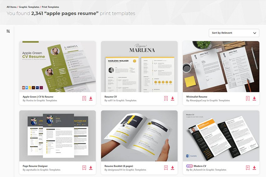 Best resume template for word & pages online, one, two, three page resume template, professional resume with free cover letter, instant resume download cv. 20 Best Free Pages Ms Word Resume Cv Templates 2021
