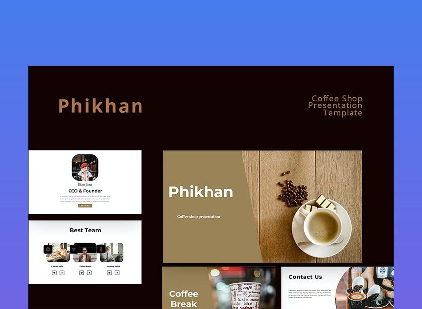 Rd.com food news & advice the hiking's great in alabama and so is the coffee, especially if you make your way. 20 Coffee Shop Powerpoint Ppt Templates Ppt Ideas For 2021