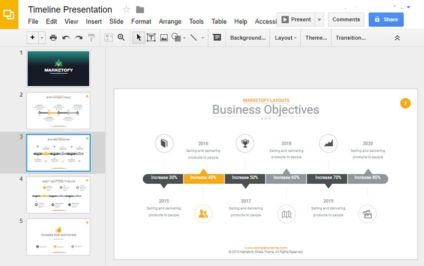 The 30 unique slides are dedicated timelines with. How To Make A Timeline On Google Slides With Templates