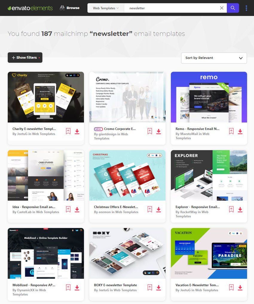 A sales follow up email is a powerful tool. 25 Professional Mailchimp Email Newsletter Templates With Corporate Designs 2020