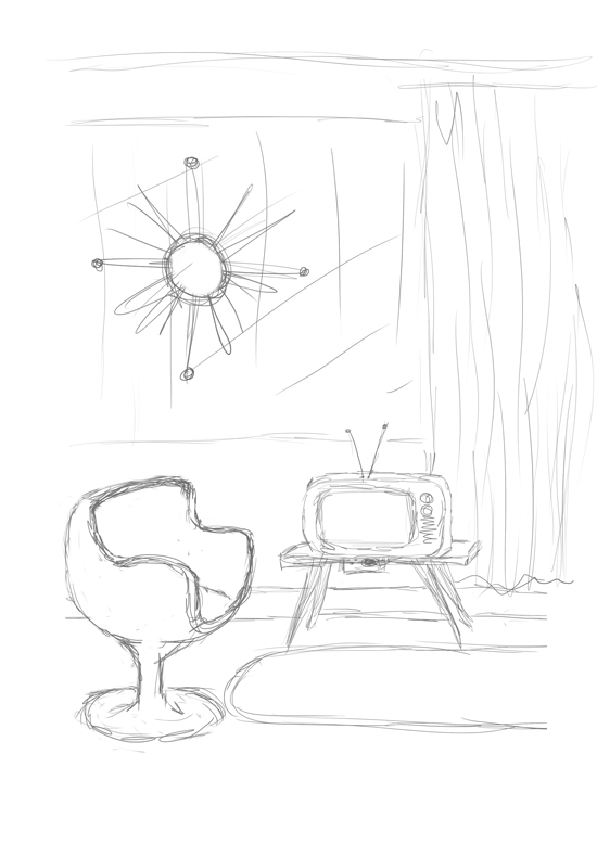 Creating a Swinging 60s Room in Adobe Illustrator CS5