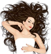 creating wild hair pin- inspired