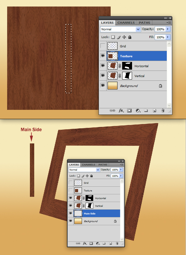 How To Create A Frame In Photoshop : create, frame, photoshop, Create, Realistic, Picture, Frame, Photoshop