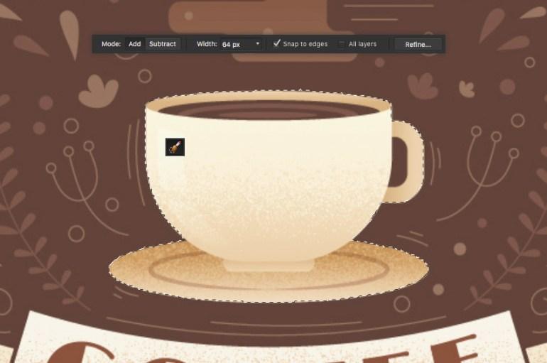 affinity designer selection brush