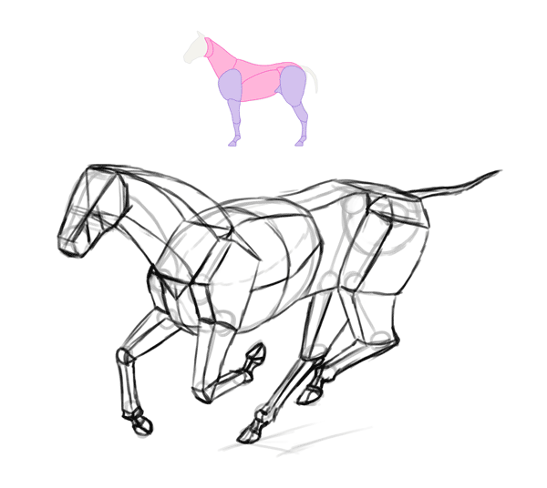 Apply Your Color Theory Lessons into Painting a Horse