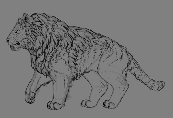 Paint Realistic Long Fur Without a Fur Brush in Adobe