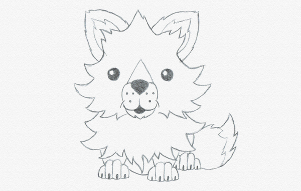 Drawing for Kids: Draw a Cute Baby Fox