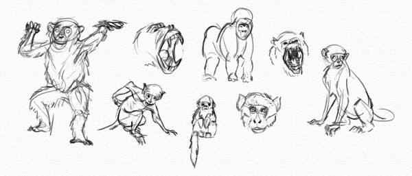Fly, My Pretty! How to Draw a Winged Monkey Step by Step
