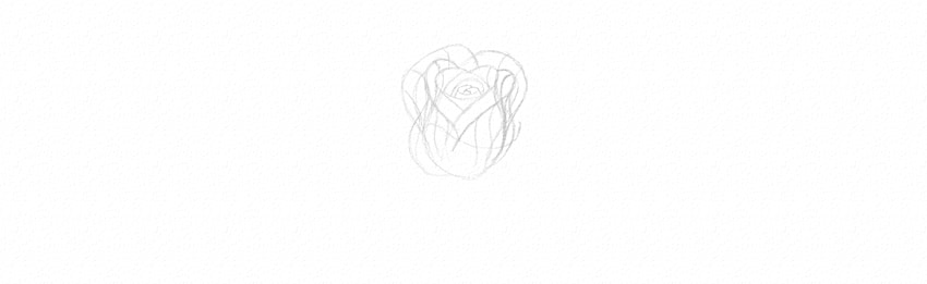 how to draw flowers in perspective
