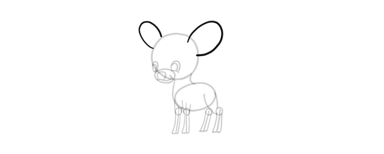 chibi deer ears