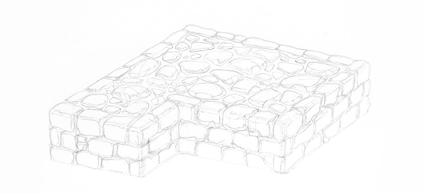 How to Draw Stone and Rock Textures