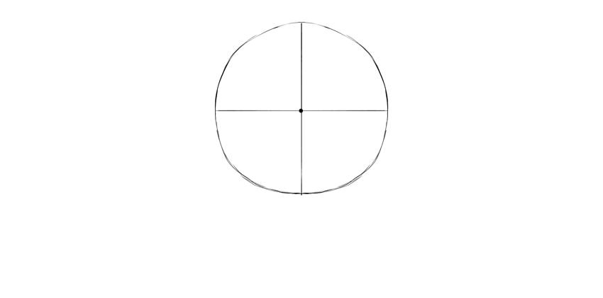 círculo de crânio humano