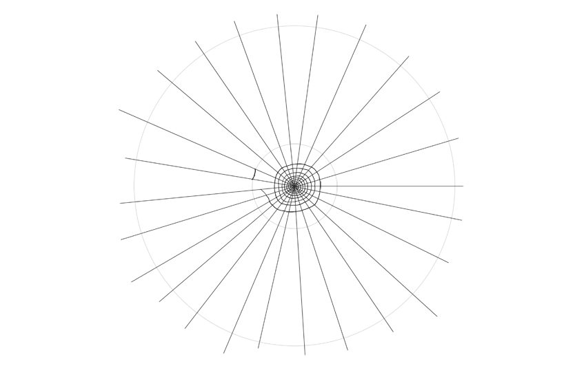 How to Draw a Spider Web Step by Step