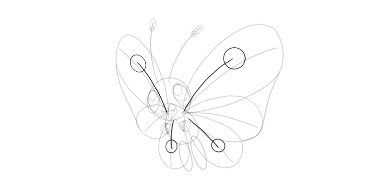 draw pattern butterfree