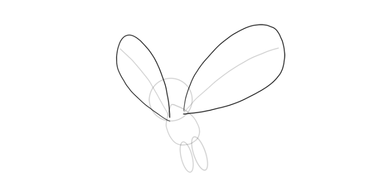 draw outline of wing butterfree