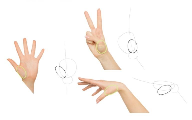 draw thumb
