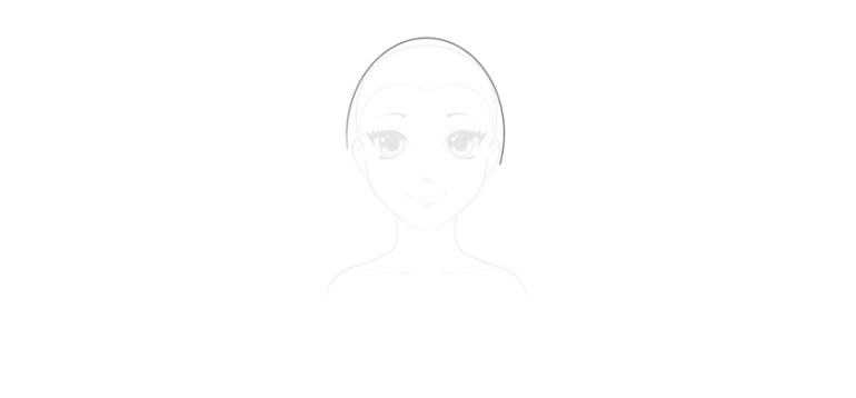 hair skull distance