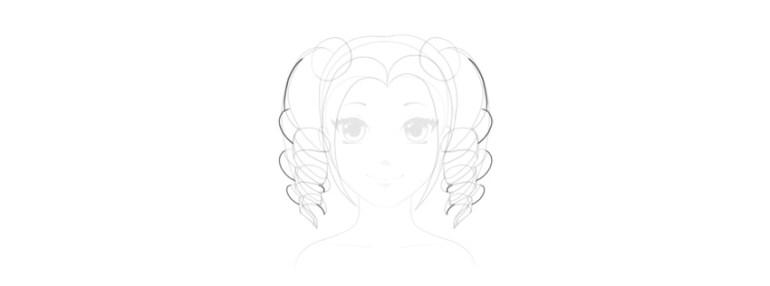 finish curls