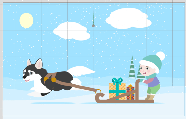 how to animate snow cta3