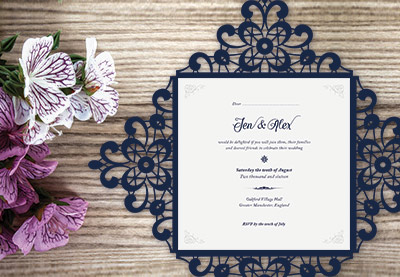 How To Create A Laser Cut Wedding Invitation In Ilrator And Indesign