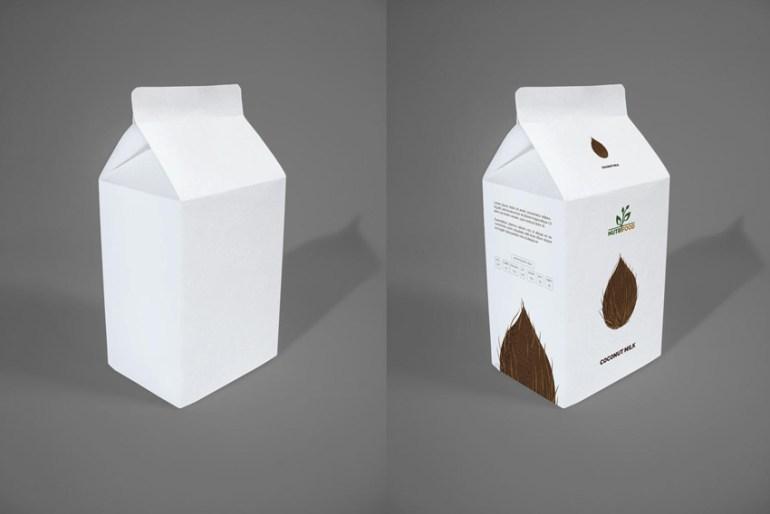 coconut milk carton