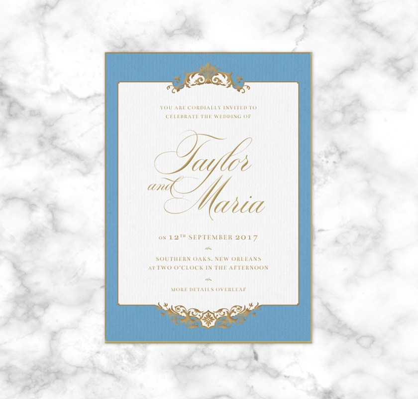 In This Tutorial Suitable For Beginners To Adobe Indesign You Can Choose Add Optional Metallic Foil Your Invites Enhance The Luxurious Design