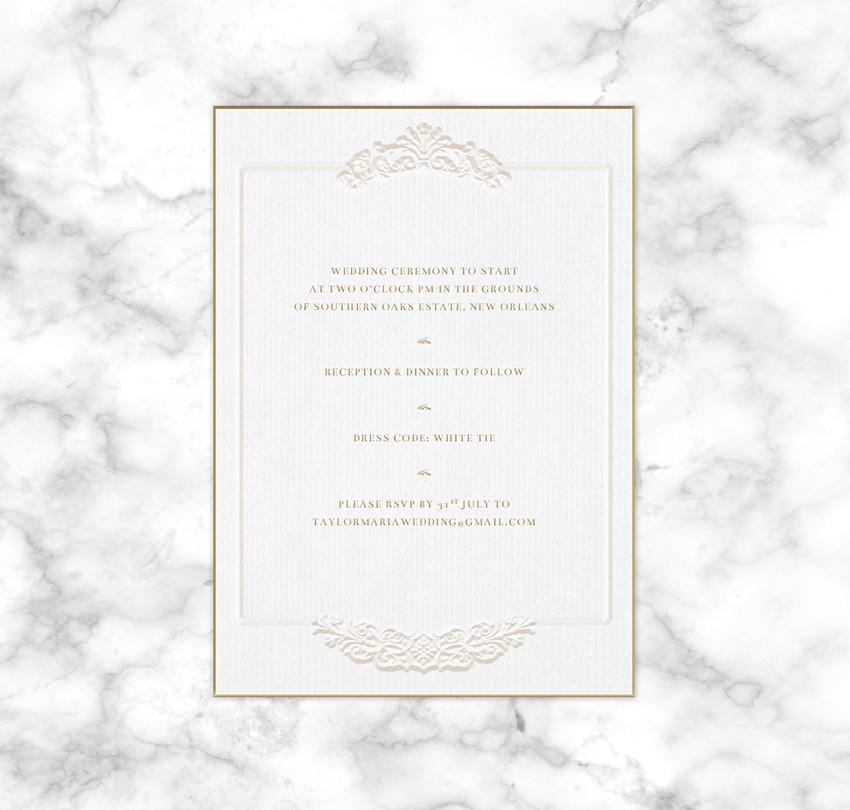 How to Create a Rococo Style Wedding Invite in Adobe