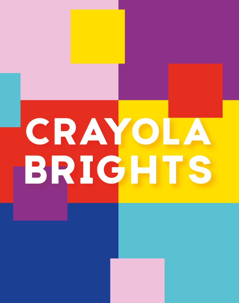 crayola brights