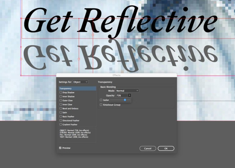transparency effects