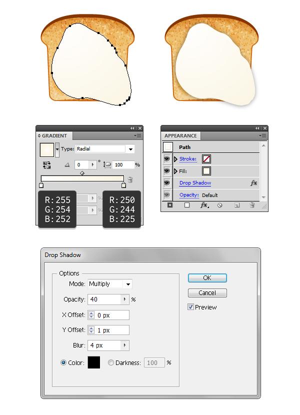 create fried egg on toast 1