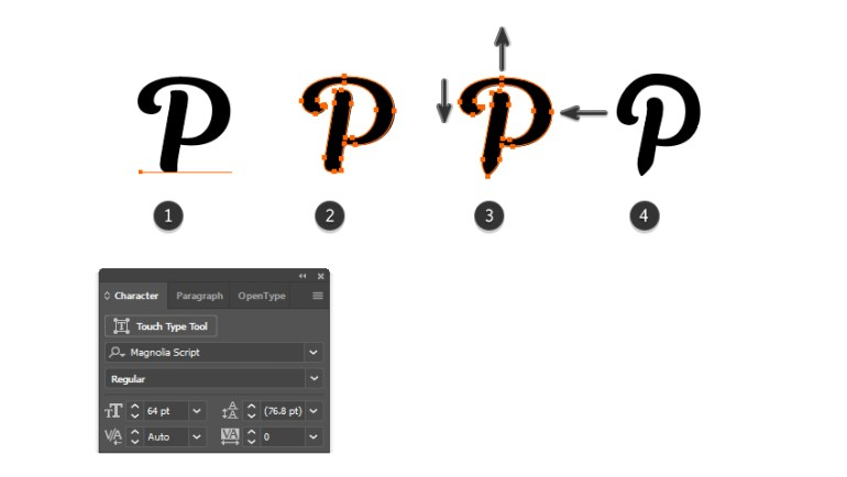 how to create the Pinterest vector logo