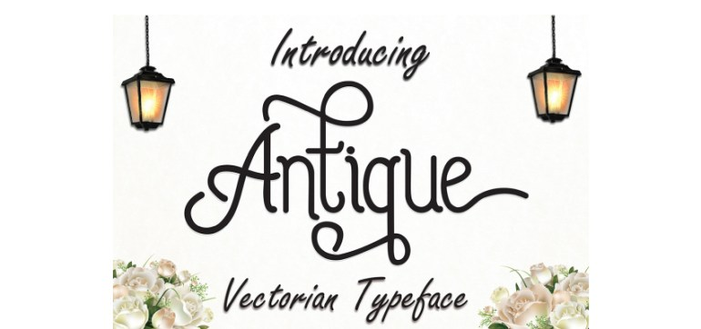 Antique Typeface